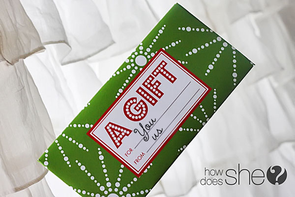 Holder a gift card holder coupon inserts a variety of gift tags and