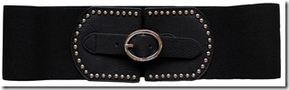 LPLP blk stretch belt