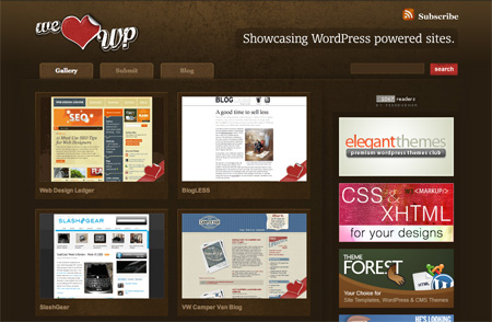 CSS Design Showcase Websites 11