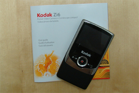Kodak Zi6 Pocket Video Camera Review