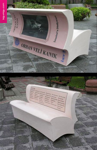 Reading Bench Advertisement
