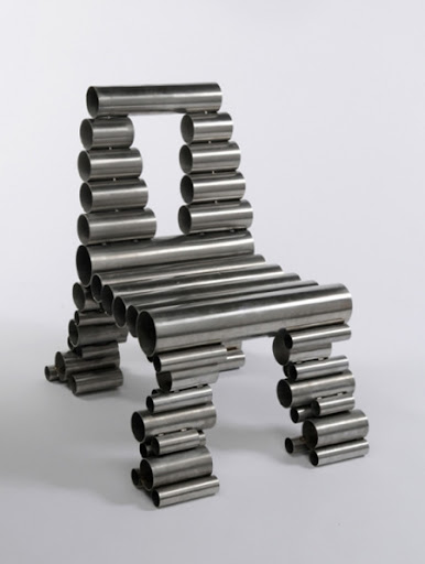 Tube Chair by Osian Batyka-Williams