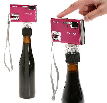 Bottle Cap Tripod for Better Photography 5