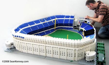 LEGO Yankee Stadium