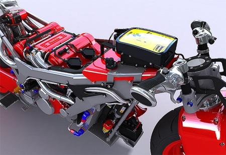 Ferrari V4 Concept Motorcycle 5