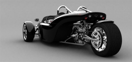V13R Campagna Motors 3 Wheel Roadster 8