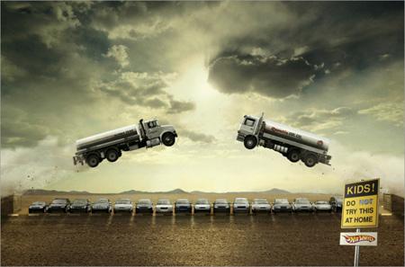 Hot Wheels Advertisement