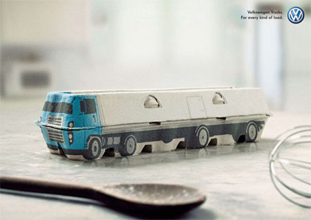 Volkswagen Trucks Advertisement
