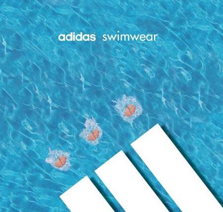 Adidas Swimwear Advertisement
