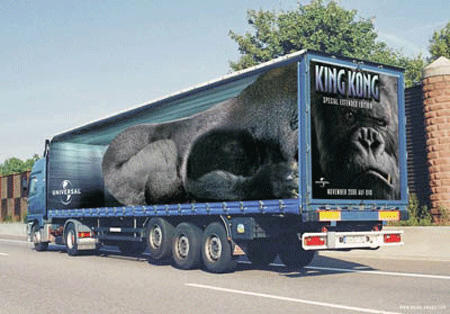 King Kong Truck Advertisement