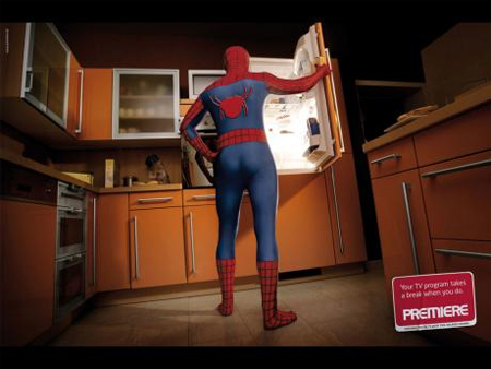 Premiere: Spiderman Ad