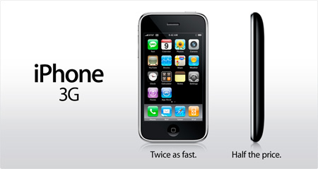 Apple iPhone 3G Announced