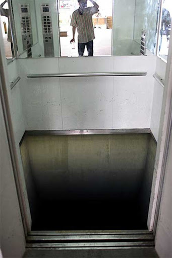 Elevator Floor Illusion 2