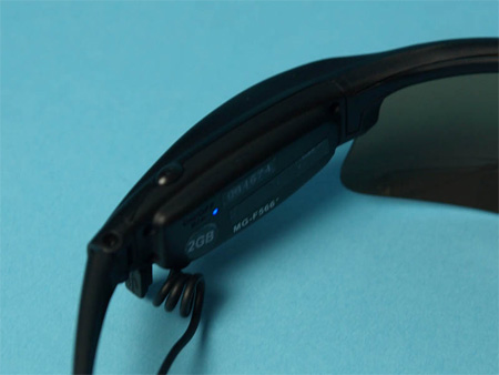 Aigo Sunglasses with Digital Camera 4