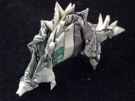 Creative Dollar Bill Origami 6
