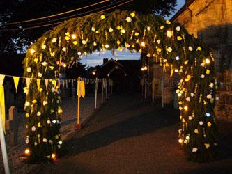 Gouden bruiloften jonkheid sancta brigida noorbeek for Gouden bruiloft versiering