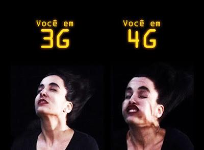 voceem3g voceem4g Diferença entre 3G e 4G