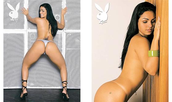 hype mulhermelancia Mulher Melancia nua e pelada na Playboy   Fotos!