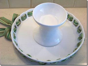Cake Plate upside med