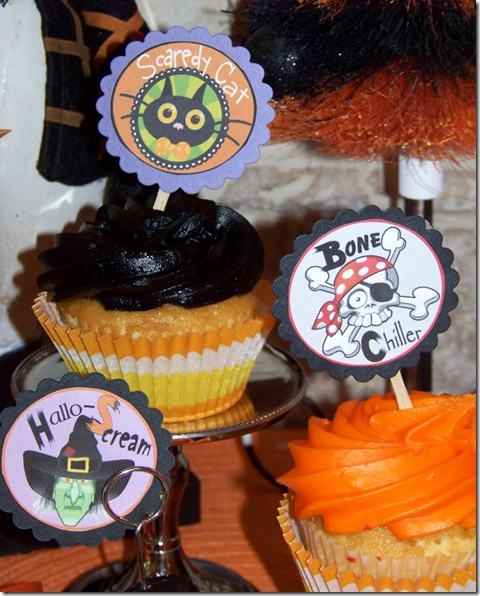 Cupcake Picks Halloween 1 lg