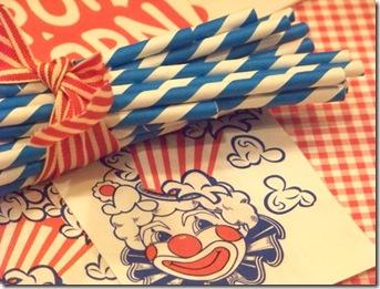Straws Blue Med 16