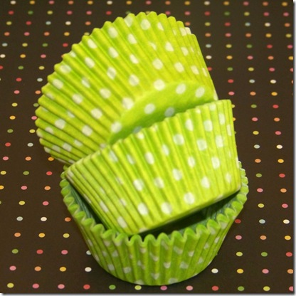 Cupcake Liners Lime Green 7
