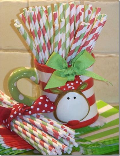 Straws Christmas 6 med