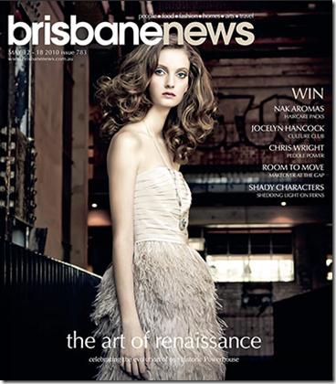 Brisbane News front
