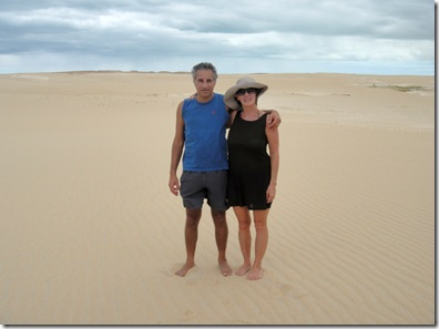 In the Galinhos dunes
