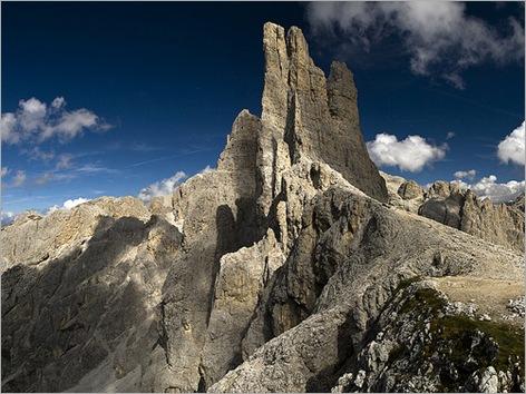 Las Torres de Vajolet, Italian Alps 01