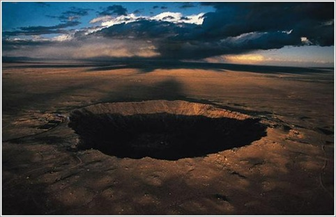 Barringer Crater, Arizona, US