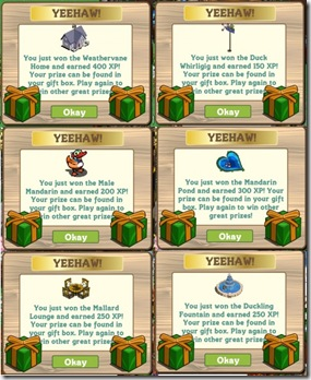 Master FarmVille Mystery Box Prizes - reen and Golden Mystery Box