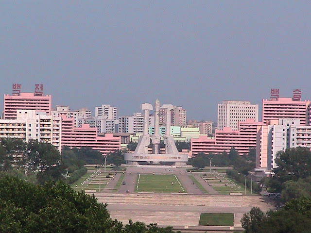Fotos de las Crónicas de Un Viaje a Corea Vistas%20de%20Pyongyang%20%285%29