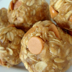 Peanut Butter Oatmeal Butterscotch Cookie Dough Balls (Egg-Free)