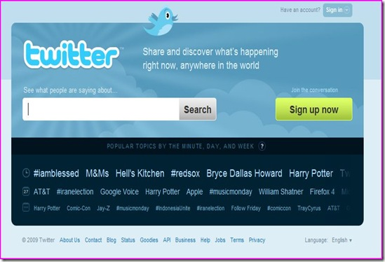 new twitter look loving it