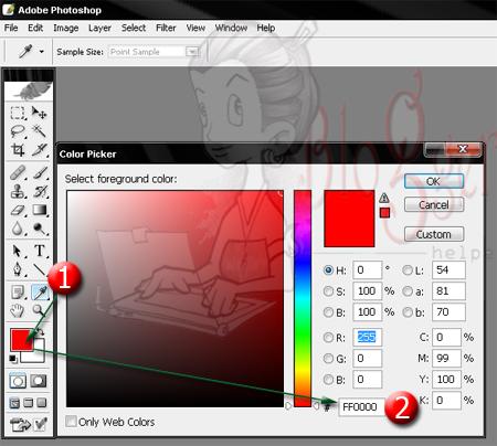 kode warna web