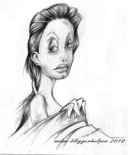 Angelina Jolie Ala indonesia