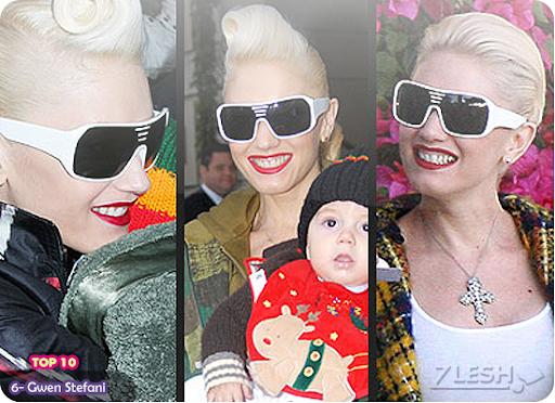 6- Gwen Stefani
