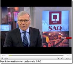 Informations erronées à la SAQ