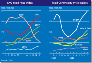 How food prices