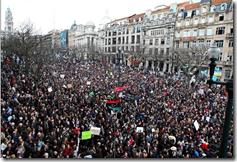 Portugal Manifestant