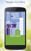 Screenshot of DoubleTake Offers Merchant App