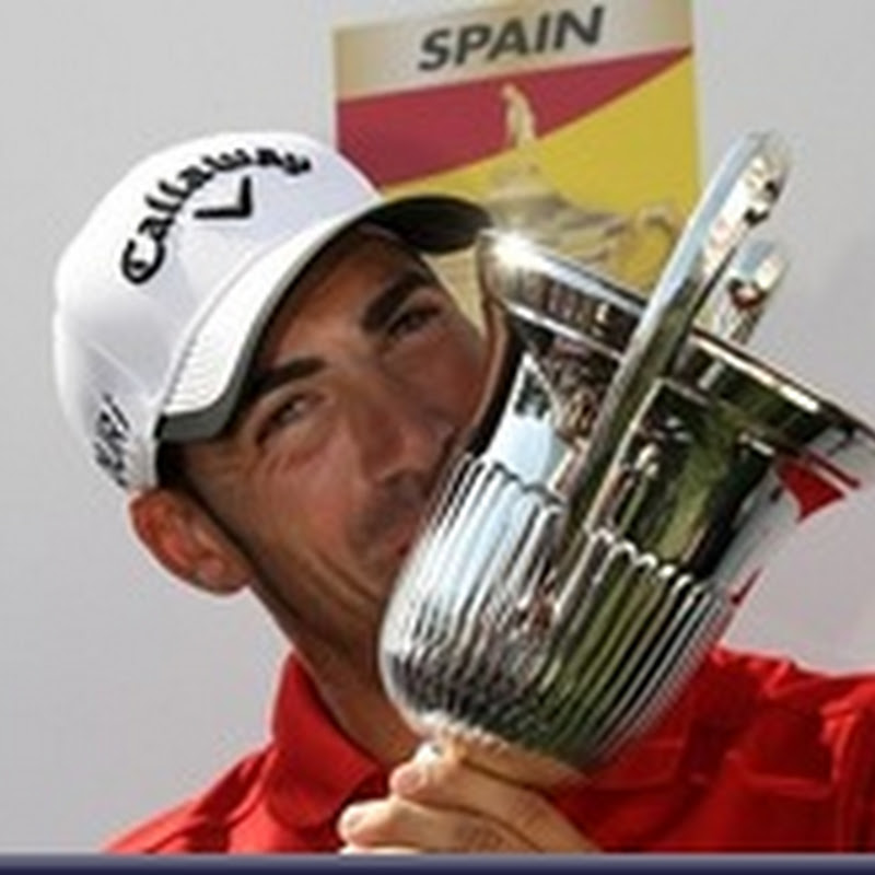 Quiros wins at Open de Espana as first Foster and then Morrison Cave In