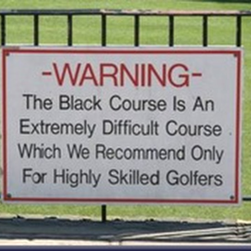 Chad's Golfing Tardice
