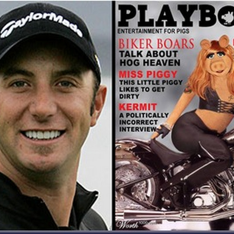 Dustin Johnson Denies Relationship With Miss Piggy