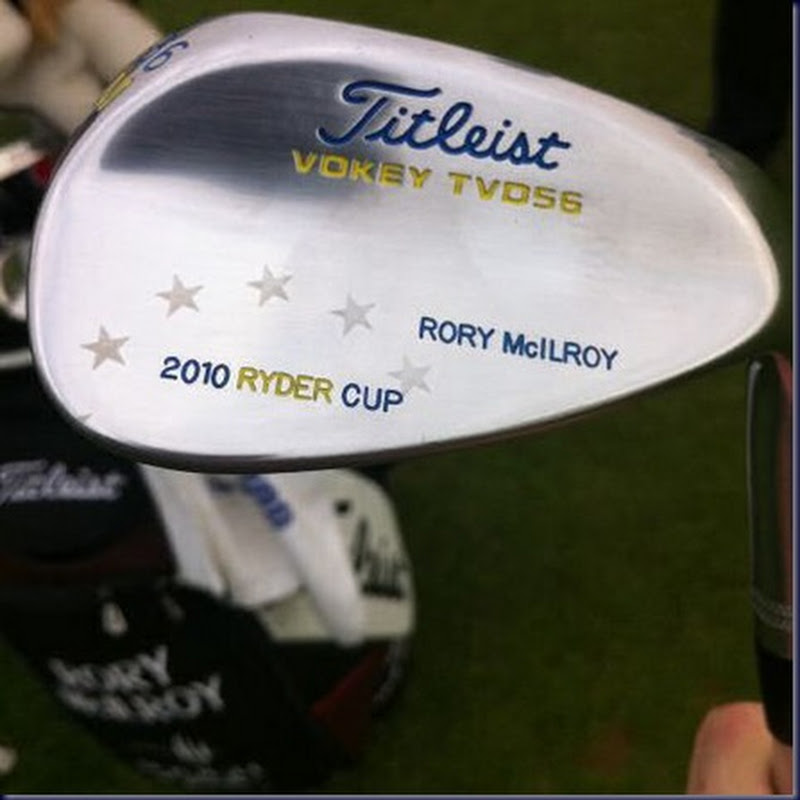 Bob Vokey Gives Rory McIlroy a Nice Wedge Present
