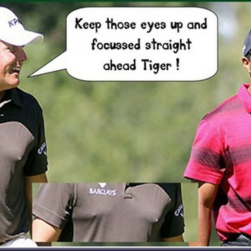Bra-less Phil Paired With Hapless Tiger with GMac The Meat In The Sandwich