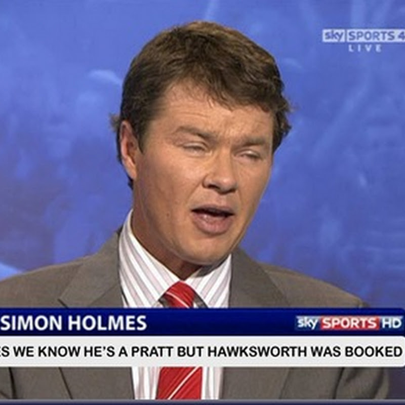 Did Anyone Notice The Simon Holmes Caption on Sky Sports Golf?