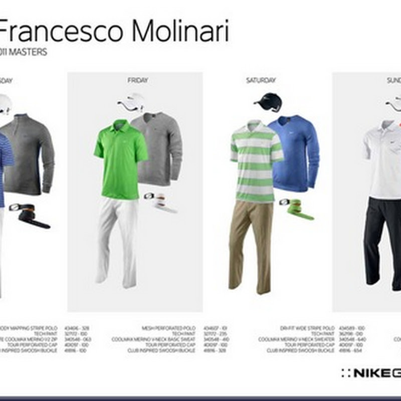 Nike Unveils Player Outfits for 2011 Masters.  Check out Tigers!