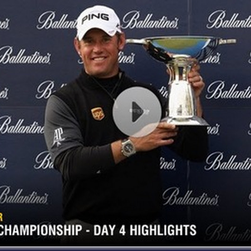 2011 Ballantine's Championship Final Round Highlights and Leaderboard- European Tour